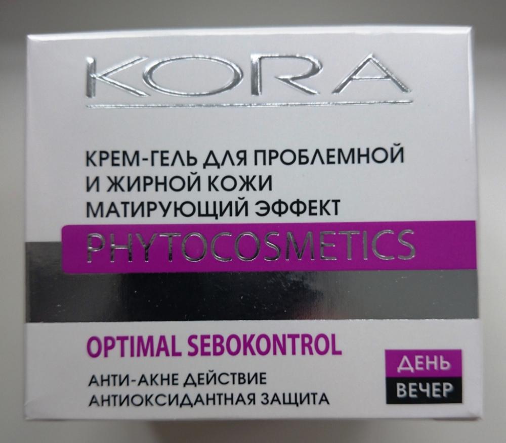 Кора крем-гель для проблемной жирной кожи отзывы