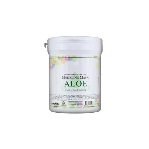 Успокаивающая альгинатная маска с экстрактом алоэ Anskin 240 гр (Альгинатные маски)