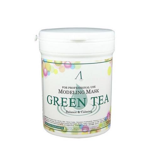 Альгинатная маска с экстрактом зеленого чая Anskin 700 мл (Альгинатные маски)