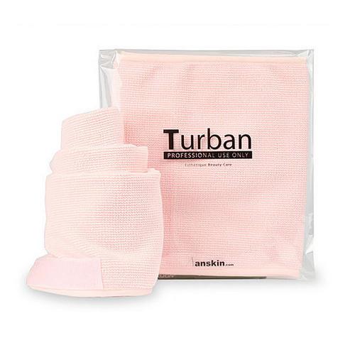 Повязка для волос Turban (Pink) 1шт (Anskin, Tools) цветок гирлянда цветочные люкс головная повязка hairband выпускного вечера венчания аксессуары для волос