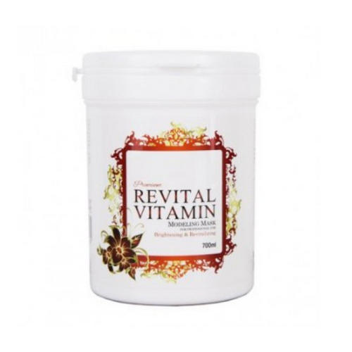 Маска альгинатная витаминная (банка) Revital Vitamin Modeling Mask 700мл (Anskin, PREMIUM) палантин vip collection vip collection mp002xw0ixe5