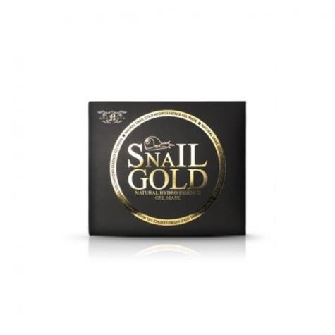 Маска для лица гидрогелевая улиточная  золотом (набор) Natural Snail Gold Hydro Essense Gel Mask 80 (Anskin,  )