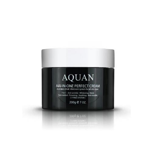 Крем для лица многофункциональный Aquan Allinone Perfect Cream 200гр (Anskin, Для лица)