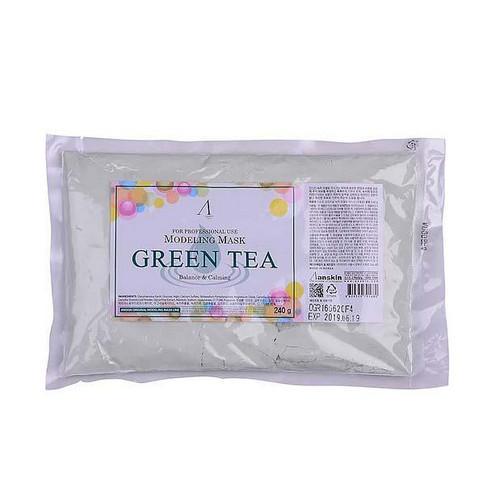 Маска альгинатная с экстрактом зеленого чая, 240 г (Anskin, Альгинатные маски) garnier маска тканевая для сухой и чувствительной кожи комфорт увлажняющая