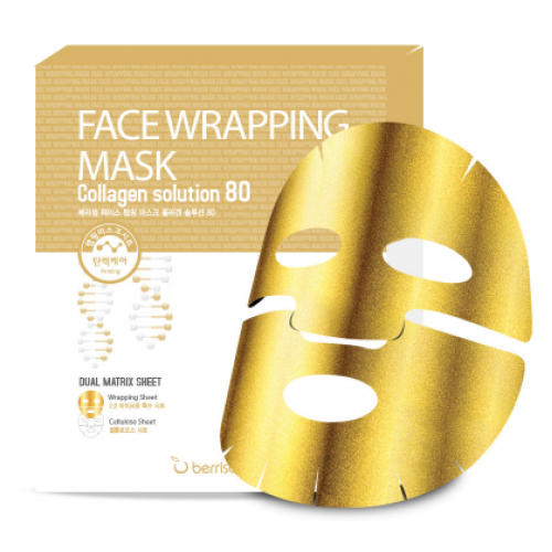 Маска для лица FW с коллагеном Face Wrapping Mask Collagen Solution 80 27 г (Wrapping Mask)
