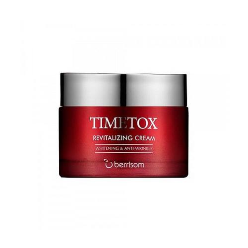 Крем для лица антивозрастной 50 гр (Berrisom, Timetox) омолаживающий серум для сухой нормальной кожи с первыми признаками старения 20 мл paese для кожи