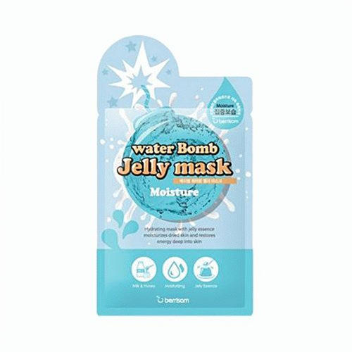 где купить Увлажняющая маска для лица с желе Berrisom water Bomb Jelly mask Moisture 33 мл (Berrisom, Jelly mask) недорого с доставкой