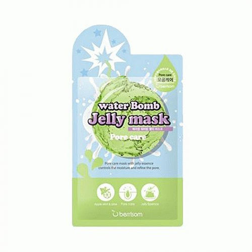 Маска для лица с желе сужающая поры Berrisom water Bomb Jelly mask Pore care 33 мл (Berrisom, Jelly mask) berrisom g9 3d volume gum mask