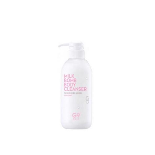Молочко очищающее для тела 500 мл (Berrisom, G9 Skin) база для макияжа сияющая glow flash beam shinbia 40мл berrisom g9 skin