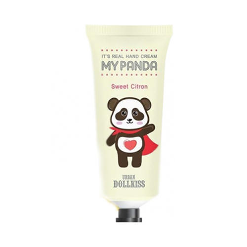 Крем для рук Urban Dollkiss Its Real My Panda Hand Cream 03 Sweet Citron 30 г (Baviphat, My panda) выравнивающий вв крем baviphat urban dollkiss pore blur bb