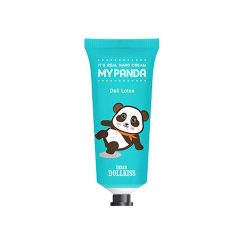 Крем для рук Urban Dollkiss Its Real My Panda Hand Cream 04 Deli Lotus 30 г (Baviphat, My panda) маска baviphat urban dollkiss new tree strawberry all in one pore pack 100 г