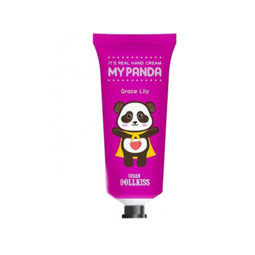 Крем для рук Urban Dollkiss Its Real My Panda Hand Cream 05 Grace Lily 30 г (Baviphat, My panda) выравнивающий вв крем baviphat urban dollkiss pore blur bb