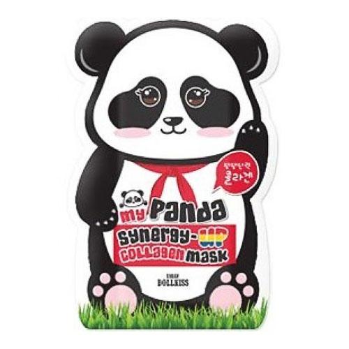 Коллагеновая маска для лица My panda synergy up collagen mask pack 30 г (Baviphat)