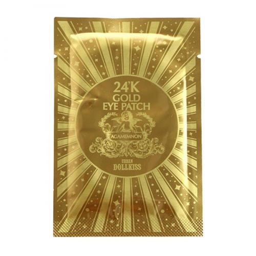 Гидрогелевые патч для глаз с золотом Urban Dollkiss Agamemnon 24K Gold Hydrogel Eye Patch 2,8 г (Baviphat eye)