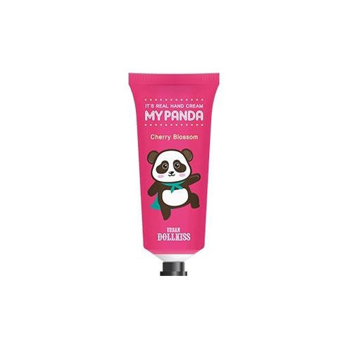 Крем для рук Urban Dollkiss Its Real My Panda Hand Cream 02 Cherry Blossom 30 г (Baviphat, My panda) выравнивающий вв крем baviphat urban dollkiss pore blur bb