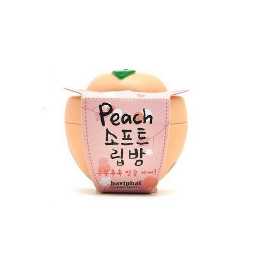Бальзам для губ персик 6гр (Baviphat, Peach)