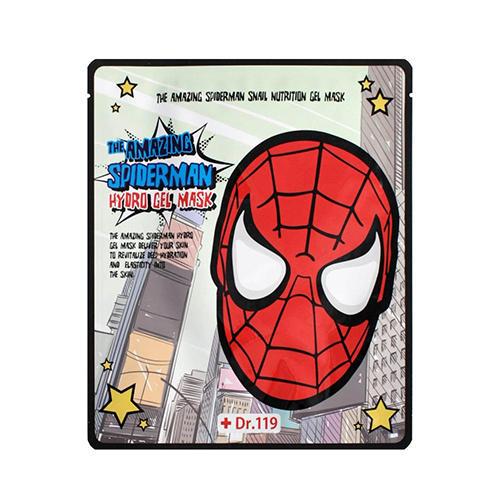 Baviphat Гидрогелевая маска для лица The Amazing Spiderman Snail Nutrition Gel Mask 30 г (Spiderman)