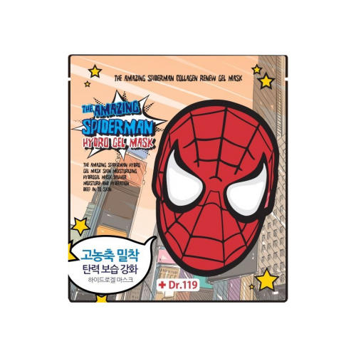 Baviphat Коллагеновая гидрогелевая маска The Amazing Spiderman Collagen Renew Gel Mask 30 г (Spiderman)