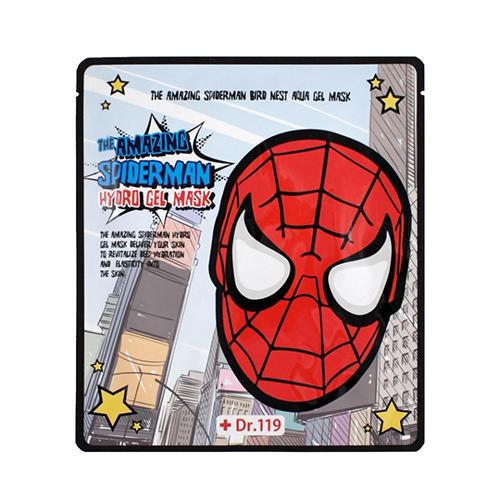 Baviphat Гидрогелевая маска ласточкино гнездо The Amazing Spiderman Bird Nest Aqua Gel Mask 30г (Spiderman)