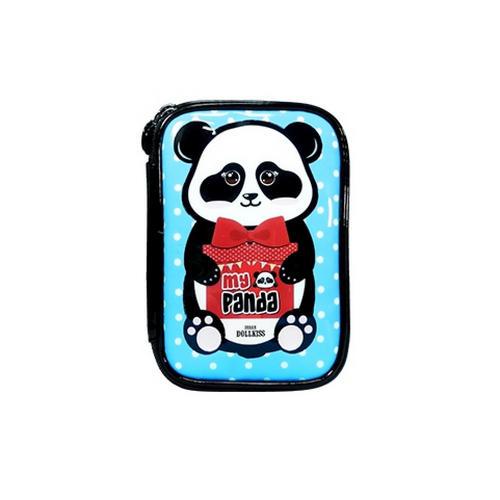 Косметичка Панда My Panda Beauty Pouch 1 шт (Baviphat, My Panda) коллагеновая маска для лица my panda synergy up collagen mask pack 30 г baviphat my panda