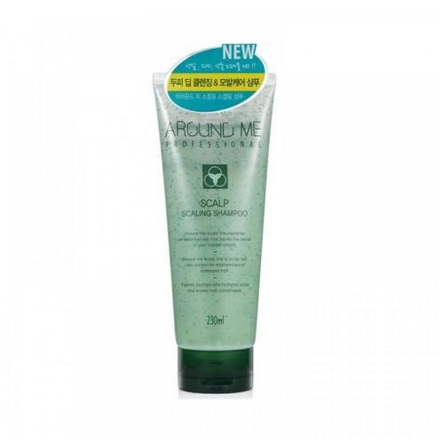 Шампуньскраб для волос и кожи головы отшелушивающий Around Me Scalp Scaling Shampoo 230мл (Welcos, Around me) проблемы с кожей головы