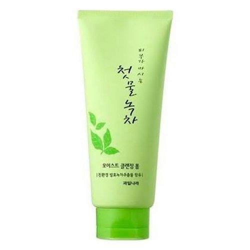 Велкос Пенка для очищения Green Tea Moist Cleansing Foam 180гр (Welcos, Green Tea) фото 0