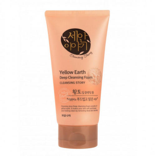 Велкос Пенка для умывания Cleansing Story Foam Cleansing Yellow Earth 150гр (Welcos, Cleansing Story) фото 0
