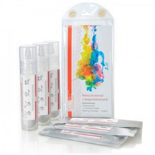 Филлер альгинатный с гиалуроновой кислотой 3х10 гр 3х 33 мл (Premium, Polyfill active)