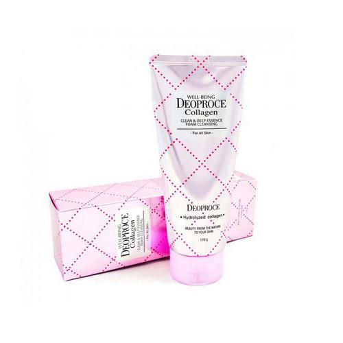 Пенка для умывания коллагеновая WELLBEING 170 г (Deoproce, COLLAGEN) тоник deoproce essential skin softener