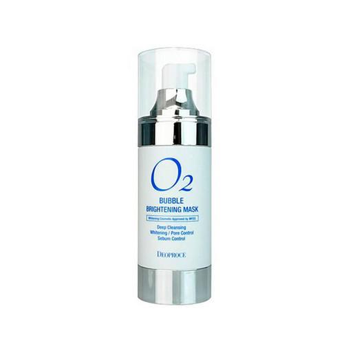 Маска кислородная для лица осветляющая 100мл (Deoproce, Для лица) кислородная маска для лица caolion blackhead o2 bubble pore pack