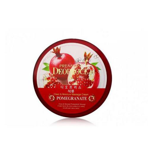Крем массажный с экстрактом граната 300г (Deoproce, PREMIUM) deoproce premium clean moisture strawberry yogurt massage cream крем массажный с экстрактом клубники 300 г page 5