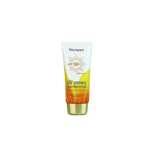 Крем солнцезащитный для лица и тела SPF50 PA 70г (Deoproce, SUN) крем от веснушек и пигментных