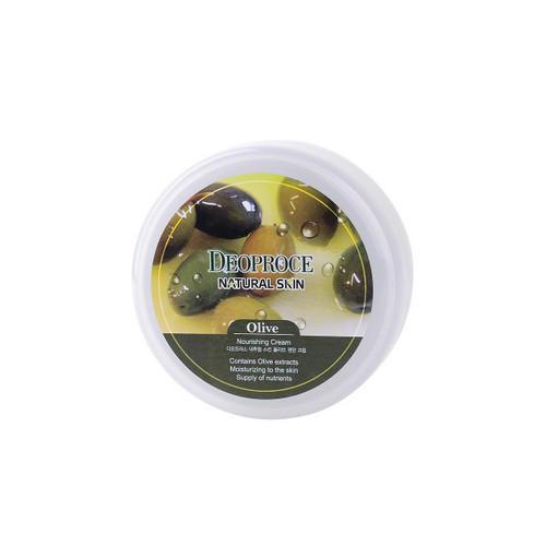 Крем для лица и тела питательный на основе масла оливы 100г (Deoproce, NATURAL SKIN) deoproce moisture silk volume honey cream крем для лица питательный на основе меда 100 г