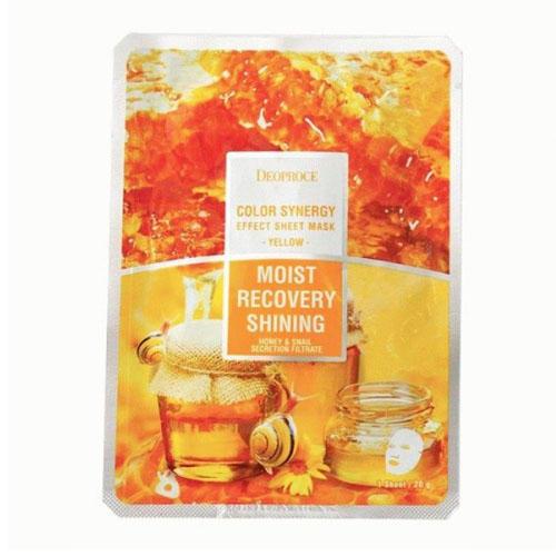 Тканевая маска на основе фильтрата улитки и мёда 20 г (Для лица)
