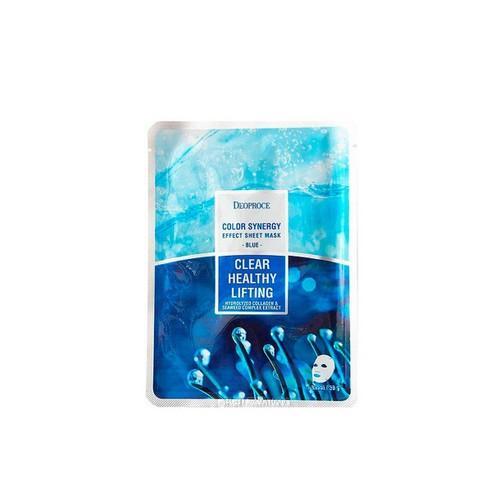 Маска тканевая морской коллаген Color Synergy 20 гр (Deoproce, SHEET) цены