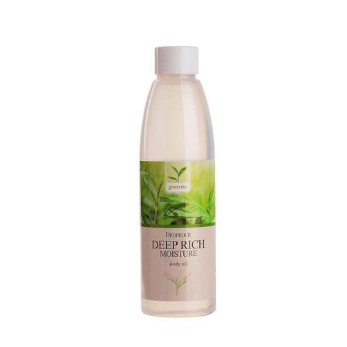 Масло для тела увлажняющее, зеленый чай 215 мл (Deoproce, BODY)