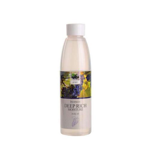 Масло для тела увлажняющее, виноград 215 мл (Deoproce, BODY) algologie масло массажное на основе виноградных косточек 500мл