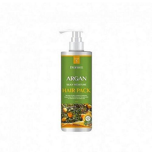 Маска для волос с аргановым маслом 1000 мл (Deoproce, HAIR ARGAN) deoproce argan silky moisture hair pack маска для волос с аргановым маслом 1000 мл