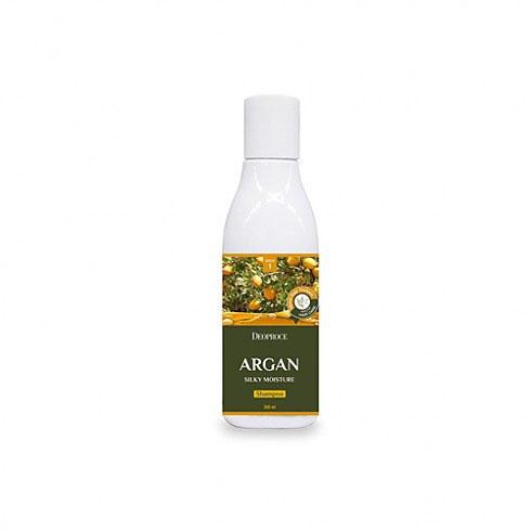 Шампунь для волос с аргановым маслом 200мл (Deoproce, HAIR ARGAN) эссенция для волос с аргановым маслом deoproce argan therapy hair essence 80мл