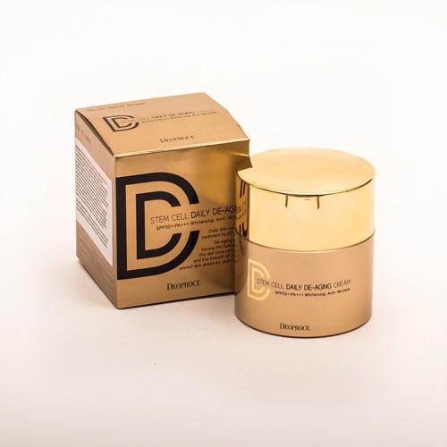 Крем ДД маскирующий STEM CELL 21 40г (Deoproce, CREAM) крем deoproce fermentation active healing cream