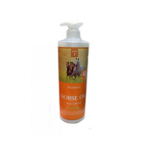 Шампунь с гиалуроновой кислотой и лошадиным жиром 1000мл (Deoproce, Horse) deoproce horse oil hyalurone shampoo шампунь с гиалуроновой кислотой и лошадиным жиром 1000 мл