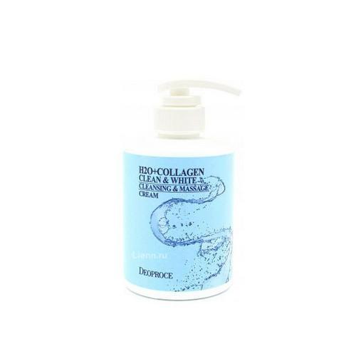 Крем для тела массажный очищающий с коллагеном 450мл (Deoproce, Для тела) крем для тела массажный очищающий с коллагеном 450мл deoproce для тела