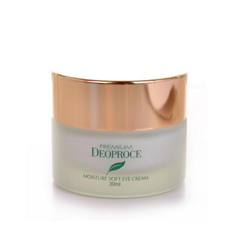 Крем для век увлажняющий с экстрактом зеленого чая 30мл (Deoproce, GREEN TEA) увлажняющий крем вокруг глаз с экстрактом зеленого чая deoproce premium deoproce green tea total solution eye cream 40 ml