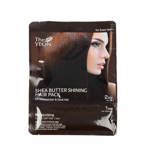 Маска для волос с маслом Ши Shea butter shining hair pack 25гр (The Yeon, CollaBean) все цены