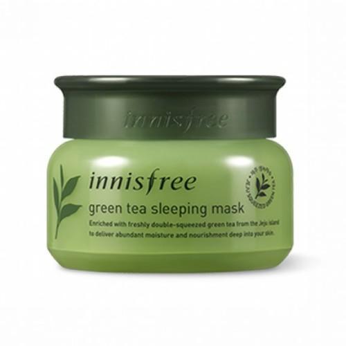 Маска для лица ночная, 80 мл (Innisfree, Green Tea)