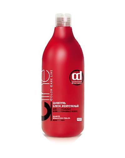 Шампунь Блеск жемчужный для натуральных блондированных волос 200 мл (Constant Delight, Color Care Line) constant delight шампунь защита цвета c line 1000 мл