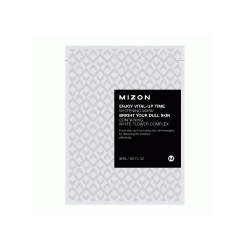 Маска листовая для лица осветляющая Vitalup time 30 мл (Mizon, Enjoy)