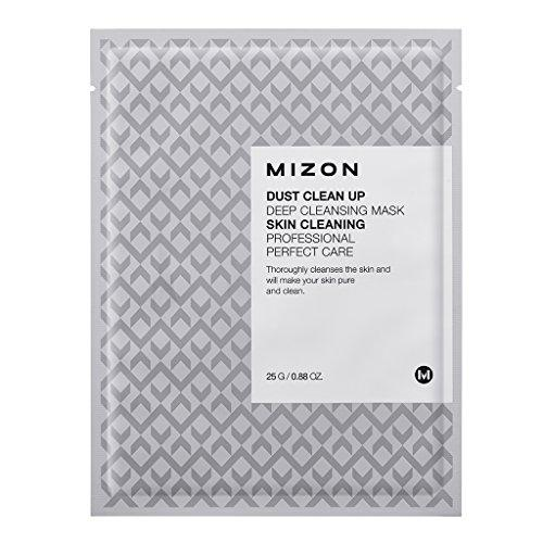 Тканевая очищающая маска 25 г (Mizon, Mask) кислородная очищающая маска mizon dust clean up deep cleansing mask
