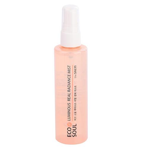 Мист для увлажнения кожи Luminous Real Radiance Mist, 105 мл (The Saem, Eco Soul) the saem silk hair repair quick dry mist мист для сушки волос 100 мл