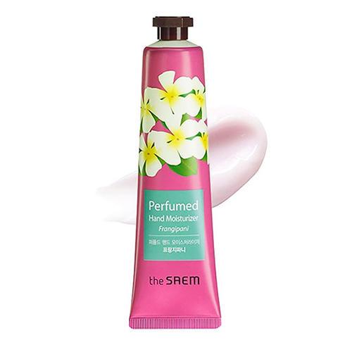 Крем для рук парфюмированный увлажняющий Moisturizer Frangipan, 30 мл (The Saem, Hand) парфюмированная эссенция для рук the saem perfumed hand light essence